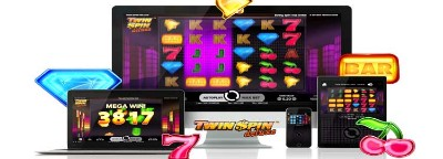 Twin Spin Deluxe Slot
